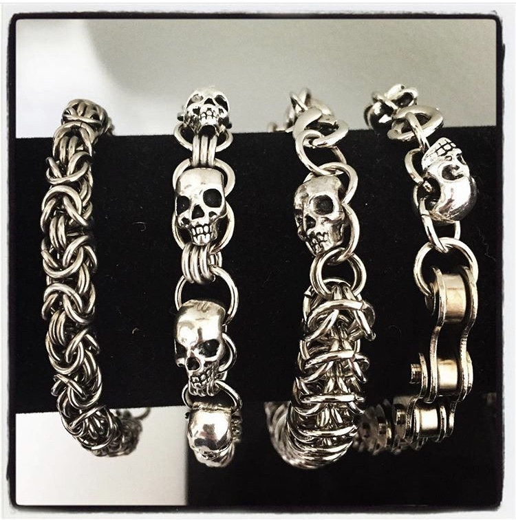 nightmair creations chain bracelets